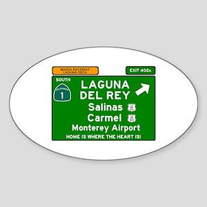 HIGHWAY 1 SIGN - CALIFORNIA - CARMEL - SAL Sticker