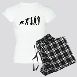 evolution of man rabbit breeder Pajamas