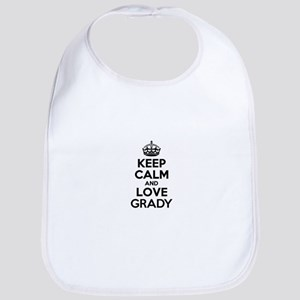 Keep Calm and Love GRADY Bib