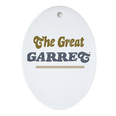 Garret Oval Ornament