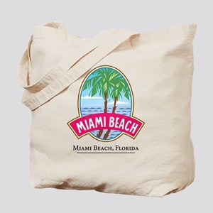 Classic Miami Beach - Tote or Beach Bag