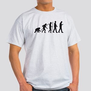 evolution of man walking with smartphone T-Shirt