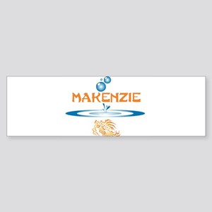 Makenzie (fish) Bumper Sticker