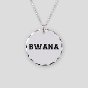 BWANA Necklace Circle Charm