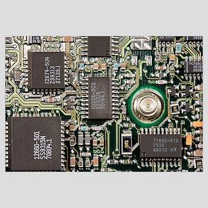 Circuit Board Wall Art - CafePress