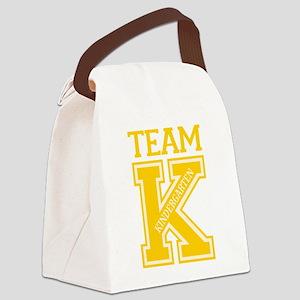 Team Kindergarten Canvas Lunch Bag