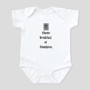 Chemo Breakfast of Champions Infant Bodysuit