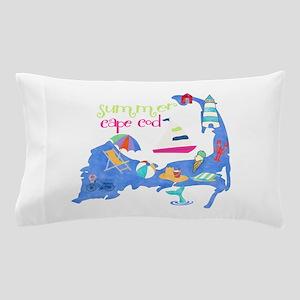 Cute Cape Cod Map Pillow Case