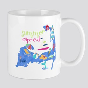 Cute Cape Cod Map Mug
