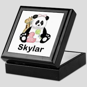 Skylar's Little Panda Keepsake Box