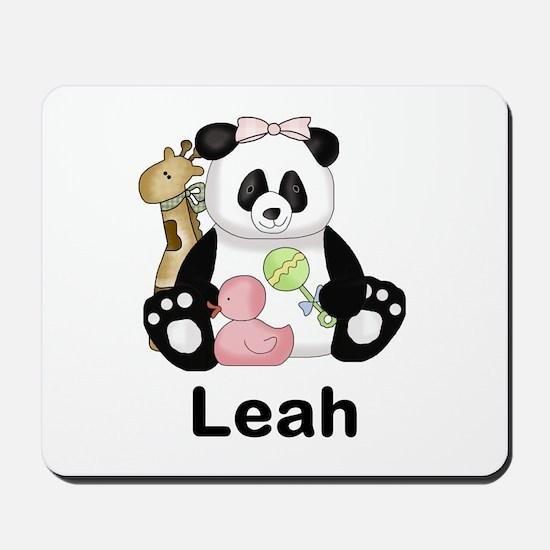 Leah's Little Panda Mousepad