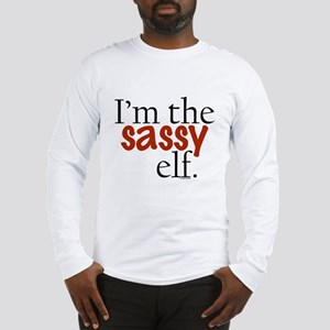 Sassy Elf Long Sleeve T-Shirt