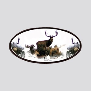 Monster mule deer Patch