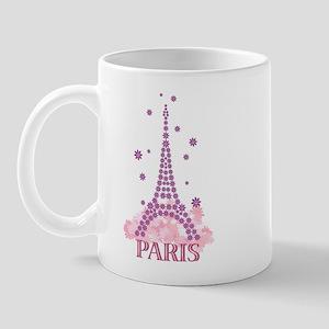 Flower Eiffel 03 Mug