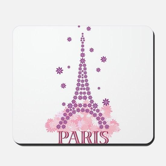 Flower Eiffel 03 Mousepad