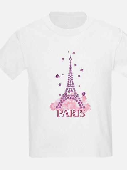Flower Eiffel 03 T-Shirt