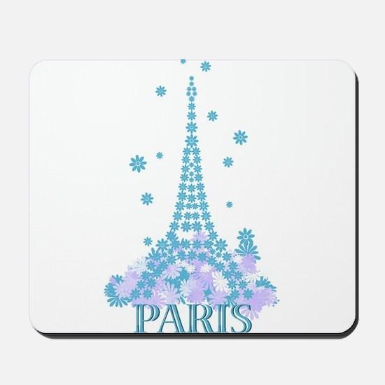 Flower Eiffel 04 Mousepad