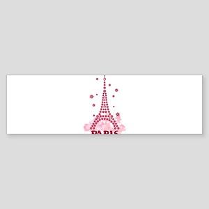 Flower Eiffel 05 Bumper Sticker
