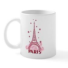 Flower Eiffel 05 Mug