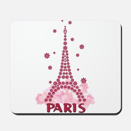 Flower Eiffel 05 Mousepad