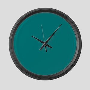 Teal Large Wall Clock