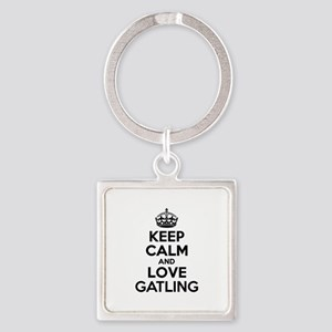 Keep Calm and Love GATLING Keychains