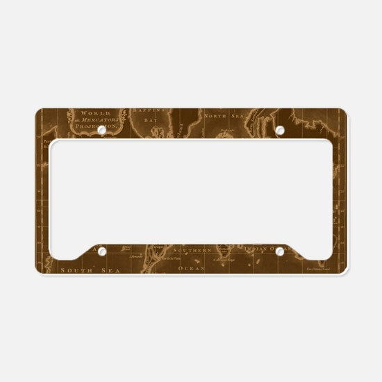 Unique Shades License Plate Holder