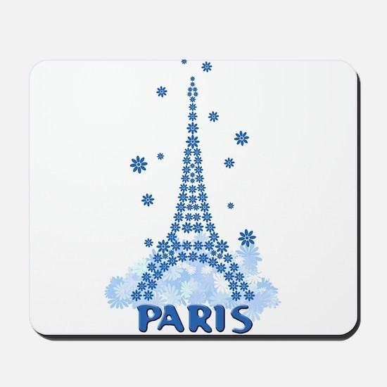 Flower Eiffel 08 Mousepad
