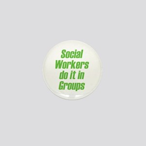Social Workers Mini Button