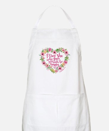 May She Who Gave Birth Be Happy Light Apron