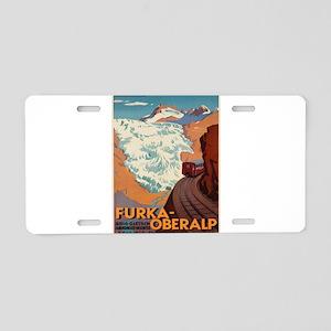 Vintage poster - Switzerlan Aluminum License Plate