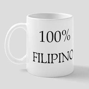 100% Filipino Mug
