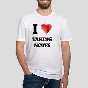 I Love Taking Notes T-Shirt