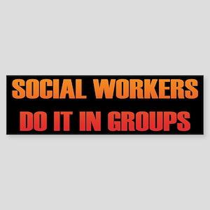 Social Workers Bumper Sticker