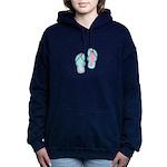 Flip Flops Women's Hooded Sweatshirt