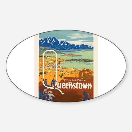 Vintage poster - New Zealand Decal