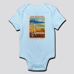 Vintage poster - New Zealand Body Suit