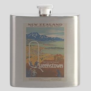 Vintage poster - New Zealand Flask