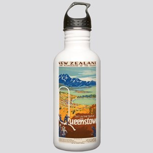 Vintage poster - New Z Stainless Water Bottle 1.0L