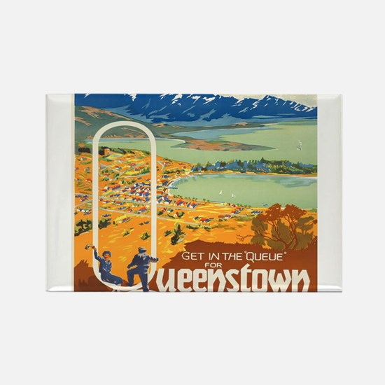 Vintage poster - New Zealand Magnets