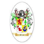 Shaw Sticker (Oval 10 pk)