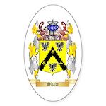 Shaw (Ireland) Sticker (Oval 50 pk)