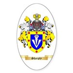 Sharply Sticker (Oval 50 pk)