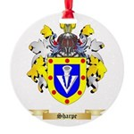 Sharpe Round Ornament