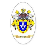 Sharpe Sticker (Oval 50 pk)