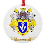 Sharp Round Ornament