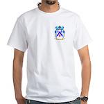 Sharkey White T-Shirt