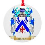 Sharkey Round Ornament