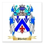 Sharkey Square Car Magnet 3