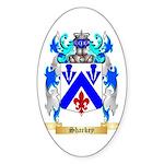 Sharkey Sticker (Oval 50 pk)